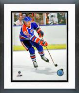 Edmonton Oilers Jari Kurri 1989 Action Framed Photo