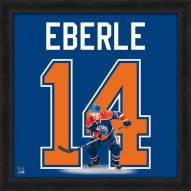 Edmonton Oilers Jordan Eberle Uniframe Framed Jersey Photo