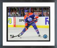 Edmonton Oilers Justin Schultz Action Framed Photo