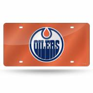 Edmonton Oilers Laser Cut License Plate