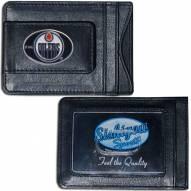 Edmonton Oilers Leather Cash & Cardholder