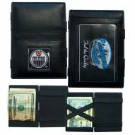 Edmonton Oilers Leather Jacob's Ladder Wallet