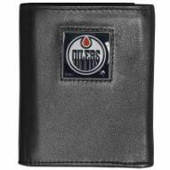 Edmonton Oilers Leather Tri-fold Wallet