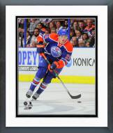 Edmonton Oilers Leon Draisaitl Action Framed Photo