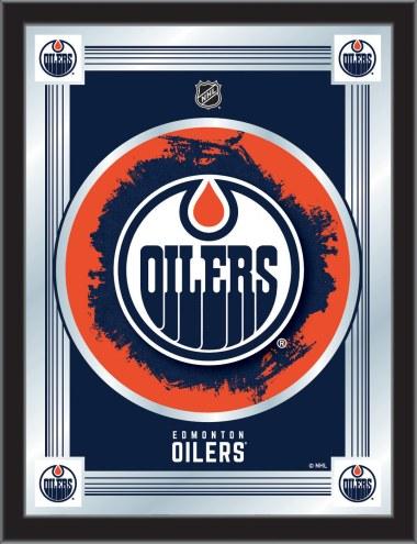 Edmonton Oilers Logo Mirror