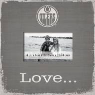 Edmonton Oilers Love Picture Frame