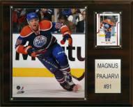 "Edmonton Oilers Magnus Paajarvi 12"" x 15"" Player Plaque"