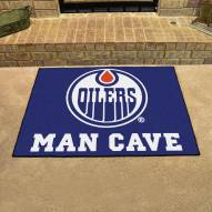 Edmonton Oilers Man Cave All-Star Rug