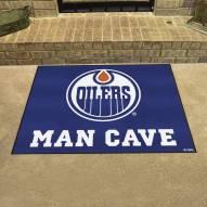 Edmonton Oilers Man Cave All-Star Rug