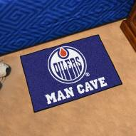 Edmonton Oilers Man Cave Starter Mat