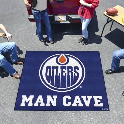 Edmonton Oilers Man Cave Tailgate Mat