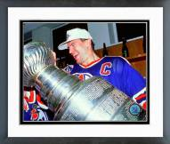Edmonton Oilers Mark Messier 1990 NHL Stanley Cup Finals Framed Photo