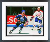 Edmonton Oilers Mark Messier Action Framed Photo