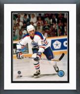 Edmonton Oilers Mike Krushelnyski Action Framed Photo