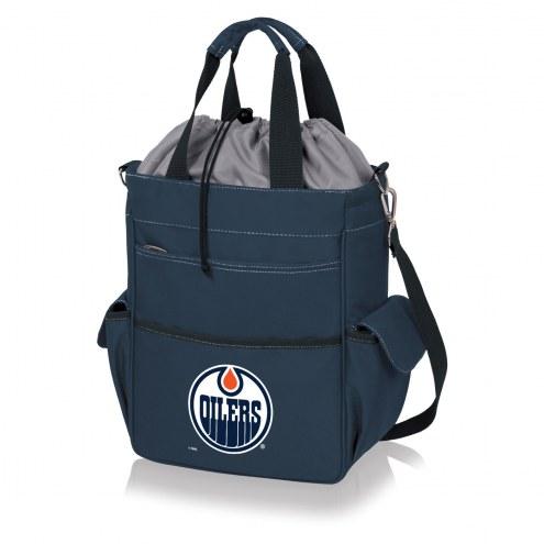 Edmonton Oilers Navy Activo Cooler Tote