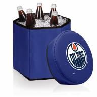Edmonton Oilers Navy Bongo Cooler