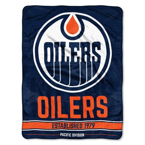 Edmonton Oilers Break Away Blanket