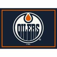Edmonton Oilers NHL Team Spirit Area Rug