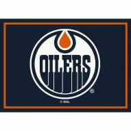 Edmonton Oilers NHL Team Spirit Area Rug