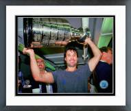 Edmonton Oilers Paul Coffey 1987 Stanley Cup Finals with Cup Framed Photo