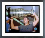 Edmonton Oilers Paul Coffey with Stanley Cup Framed Photo
