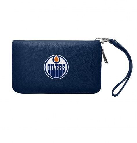 Edmonton Oilers Pebble Organizer Wallet