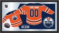 Edmonton Oilers Personalized Jersey Mirror
