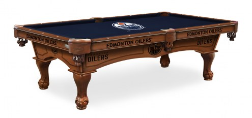 Edmonton Oilers Pool Table