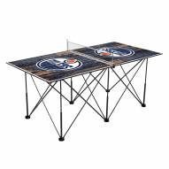 Edmonton Oilers Pop Up 6' Ping Pong Table