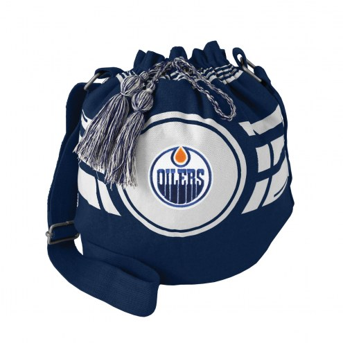 Edmonton Oilers Ripple Drawstring Bucket Bag