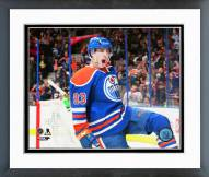 Edmonton Oilers Ryan Nugent-Hopkins Action Framed Photo