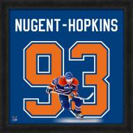 Edmonton Oilers Ryan Nugent-Hopkins Uniframe Framed Jersey Photo