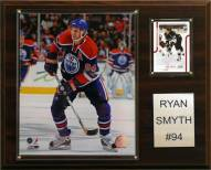 """Edmonton Oilers Ryan Smith 12"""" x 15"""" Player Plaque"""