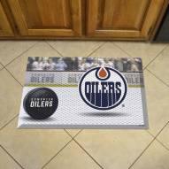 Edmonton Oilers Scraper Door Mat