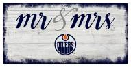 Edmonton Oilers Script Mr. & Mrs. Sign