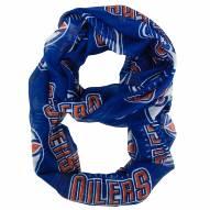 Edmonton Oilers Sheer Infinity Scarf