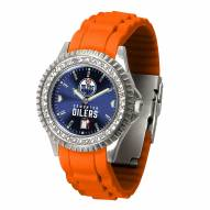 Edmonton Oilers Sparkle Women's Watch