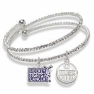 Edmonton Oilers Support HFC Crystal Bracelet