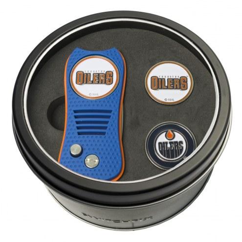 Edmonton Oilers Switchfix Golf Divot Tool & Ball Markers