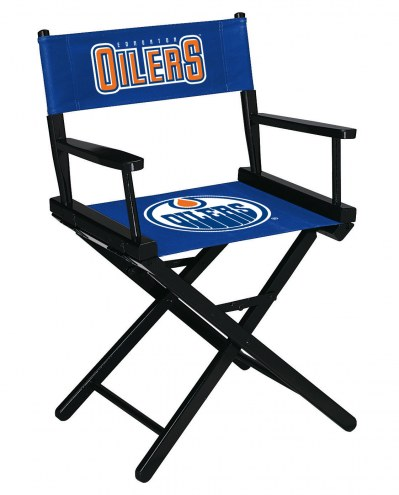 Edmonton Oilers Table Height Director's Chair