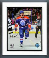 Edmonton Oilers Taylor Hall Action Framed Photo