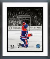Edmonton Oilers Taylor Hall Spotlight Action Framed Photo