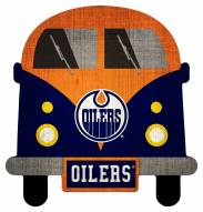 Edmonton Oilers Team Bus Sign