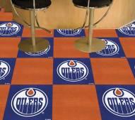 Edmonton Oilers Team Carpet Tiles