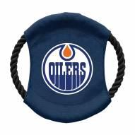 Edmonton Oilers Team Frisbee Dog Toy
