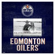 "Edmonton Oilers Team Name 10"" x 10"" Picture Frame"