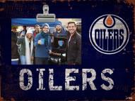 Edmonton Oilers Team Name Clip Frame
