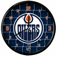 Edmonton Oilers Team Net Clock