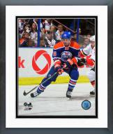 Edmonton Oilers Teddy Purcell Action Framed Photo