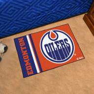Edmonton Oilers Uniform Inspired Starter Rug